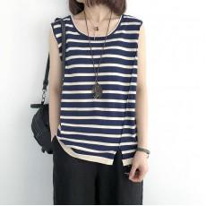 (NA2248) 簡約針織背心上衣