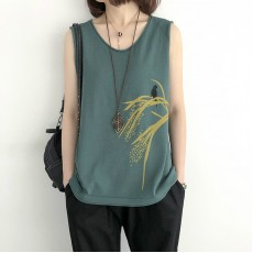 (NA2249) 簡約針織背心上衣