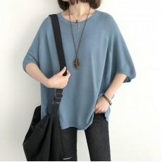(NA2252) 簡約針織上衣