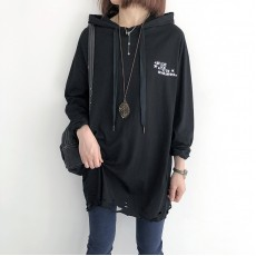 (NA2253) 簡約棉質連帽上衣