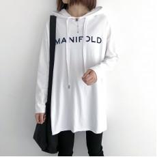 (NA2254) 簡約棉質連帽上衣