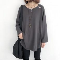 (NA2258) 簡約棉質上衣