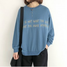 (NA2260) 簡約棉質上衣