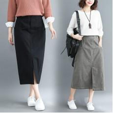 (F8522) 半身裙 (大碼款)