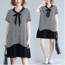 (F8526) 連身裙 (大碼款)