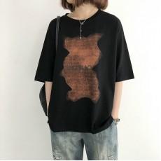 (NA2204) 簡約棉質上衣