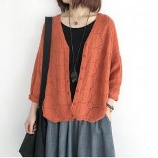 (NA2226) 簡約針織外套