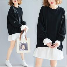 (F8400) 連身裙 (大碼款)