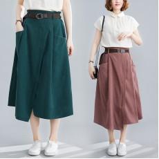 (F8410) 半身裙 (大碼款)