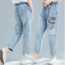 (F8415) 牛仔褲 (大碼款)