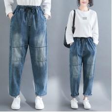 (F8416) 牛仔褲 (大碼款)