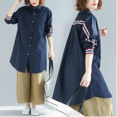 (F8427) 長款恤衫 (大碼款)