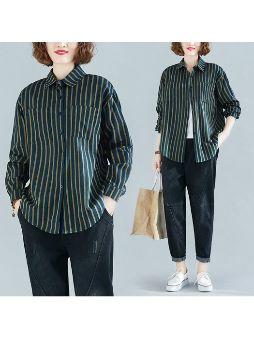 (F8434) 恤衫 (大碼款)