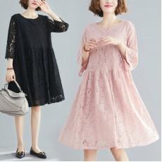 (F8439) 連身裙 (大碼款)