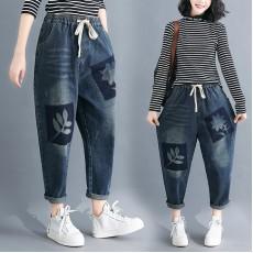 (F8369) 牛仔褲 (大碼款)