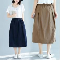 (F8374) 半身裙 (大碼款)