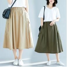 (F8375) 半身裙 (大碼款)