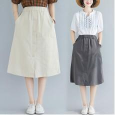 (F8383) 半身裙 (大碼款)