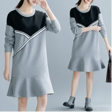 (F8388) 連身裙 (大碼款)