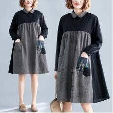 (F8392) 連身裙 (大碼款)