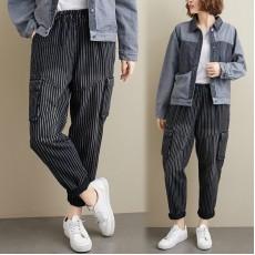 (F8395) 牛仔褲 (大碼款)