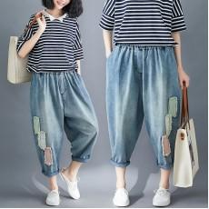 (F8397) 牛仔褲 (大碼款)
