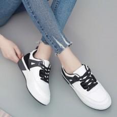 (SH026) 平底運動款白鞋