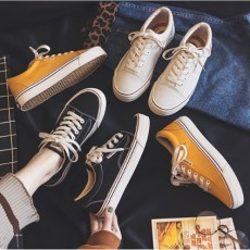 (SH027) 平底帆布鞋
