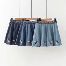 日系(WA9573)  牛仔半身裙