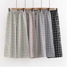 日系(WA9587) 闊腿褲