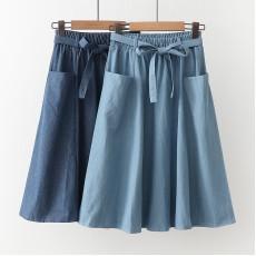 日系(WA9595) 牛仔半身裙