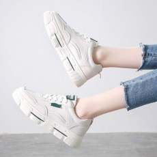 (SH019) 平低PU彷皮運動款鞋