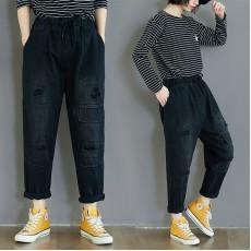 (F8321) 牛仔褲 (大碼款)