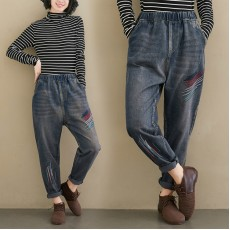 (F8323) 牛仔褲 (大碼款)