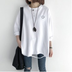 (NA2185) 簡約棉質上衣