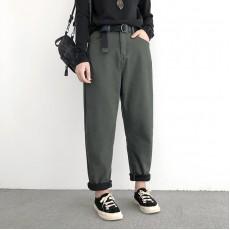 (NA2190) 簡約棉質長褲