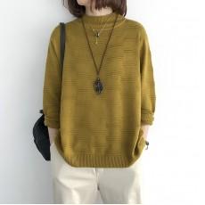 (NA2192) 簡約針織上衣