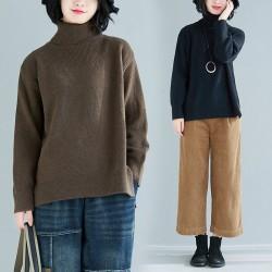 (F8216) 針織上衣 (大碼款)