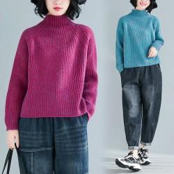 (F8217) 針織上衣 (大碼款)