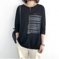 (NA2166) 簡約棉質上衣