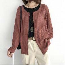 (NA2171) 簡約針織外套