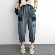 (NA2180) 簡約牛仔褲