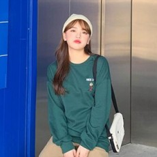 (現貨綠色)韓國直送sonyunara TEE上衣1125