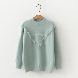 日系(WA9340) 針織上衣