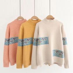 日系(WA9353) 針織上衣