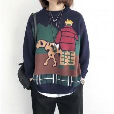 (NA2126) 簡約針織上衣