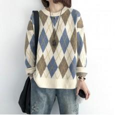 (NA2132) 簡約針織上衣