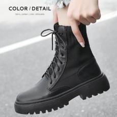 英倫風帥氣秋冬款短靴 (B011)