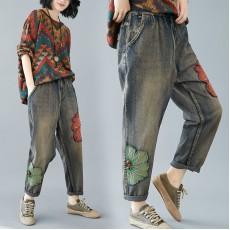 (F7830) 牛仔褲  (大碼款)