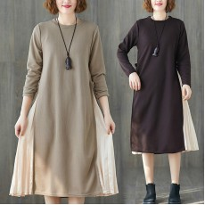 (F7833) 連身裙 (大碼款)